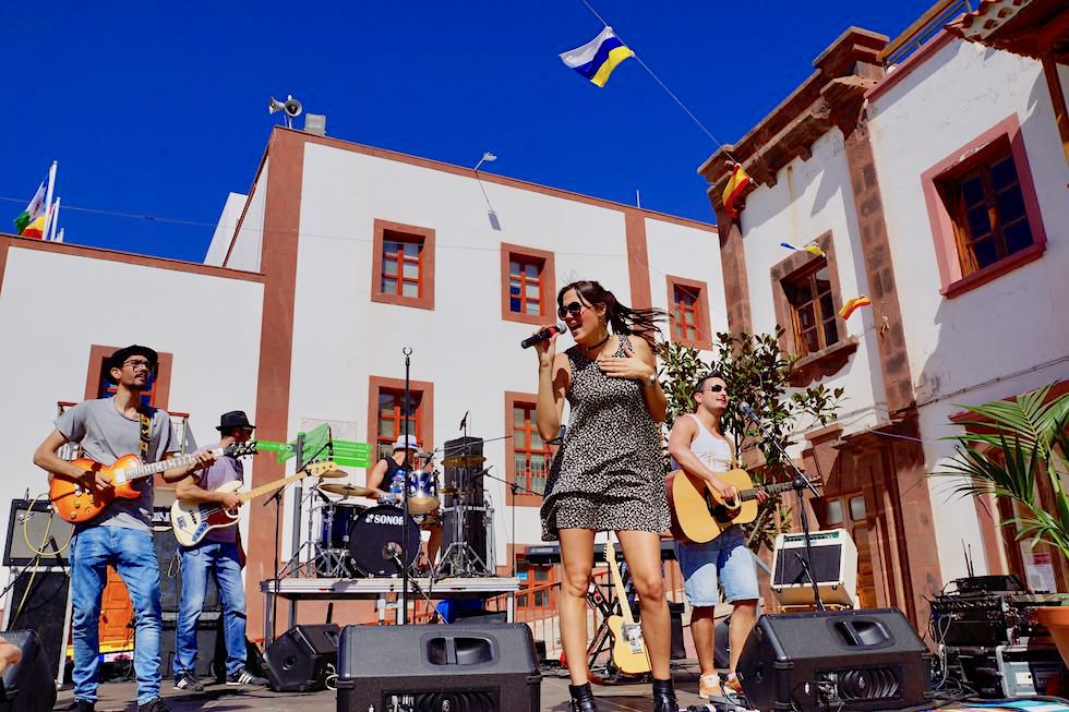 Artenara Musik Fest - moderne Band & Gesang - Gran Canaria