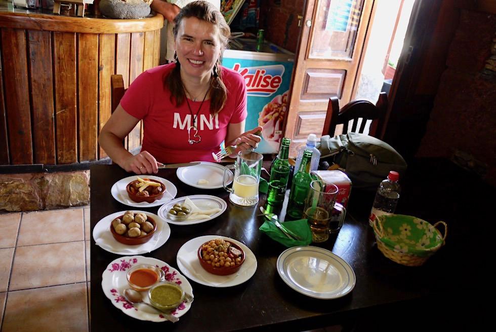 Artenara - Restaurant Tamadaba: kleine Gerichte & Tapas - Gran Canaria