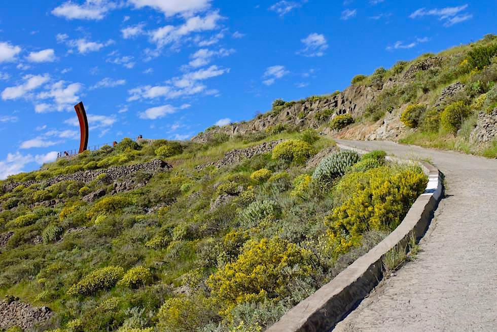 Artenara - Weg zum Mirador de los Poetas - Gran Canaria