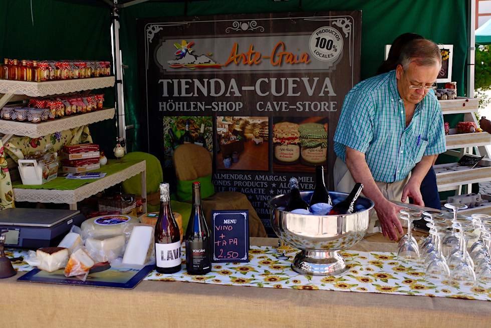 Artenara - lokale Köstlichkeiten auf dem Markt - Gran Canaria