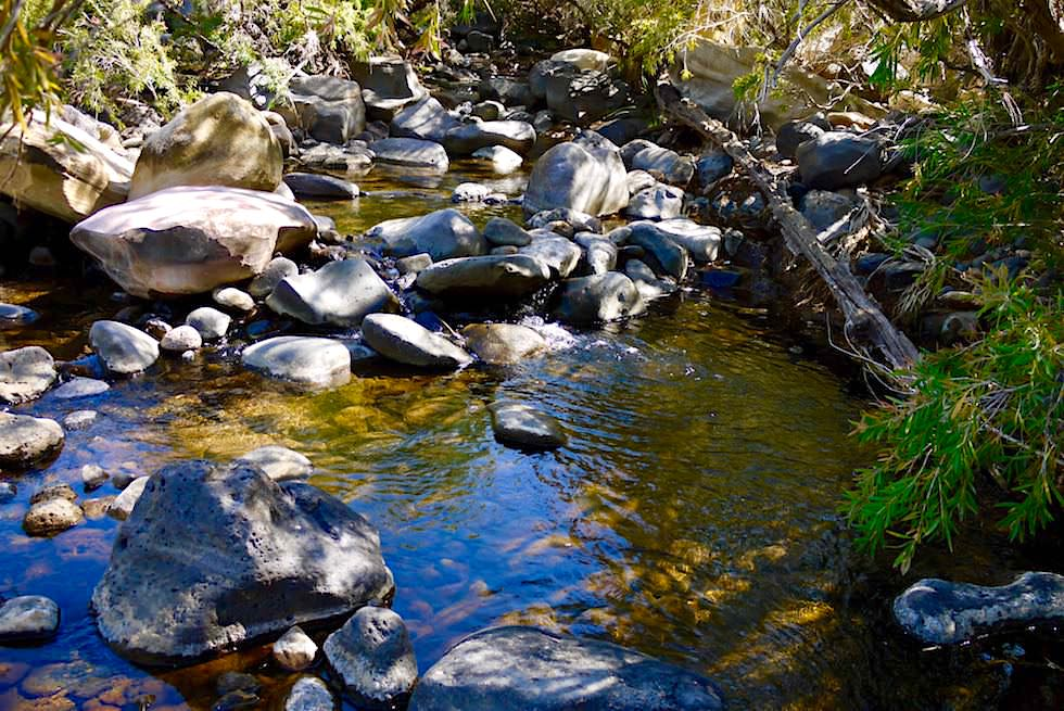 Pyramid Walk - Bachlauf des Porcupine Creek - Outback Queensland