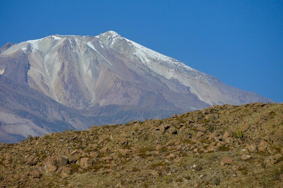 Blick auf Nevado Chachani - Arequipa - Peru