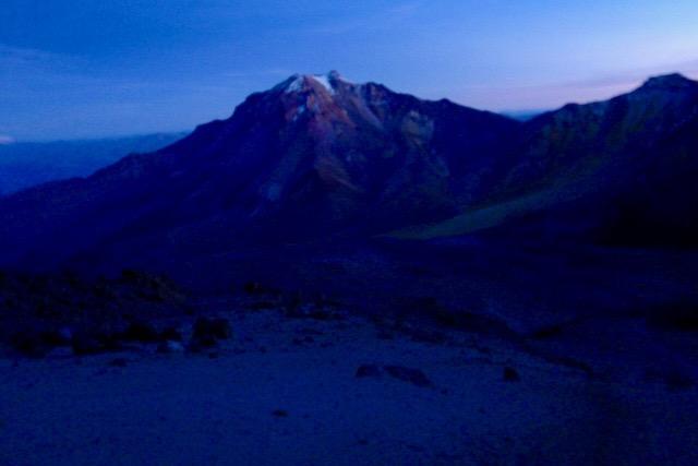 Chachani Besteigung - Erstes Licht - Arequipa - Peru