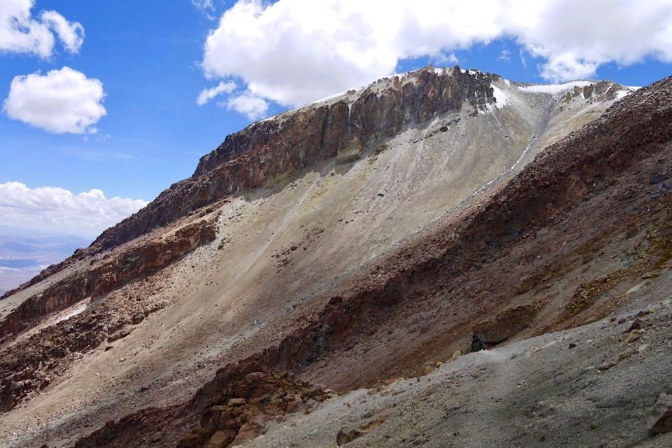 Chachani Besteigung - Fels & Schotter - Arequipa - Peru