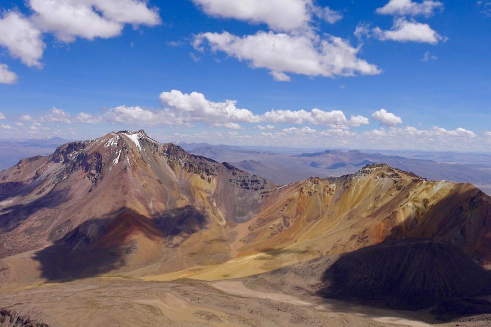 Chachani Besteigung - Panoramablick - Arequipa - Peru