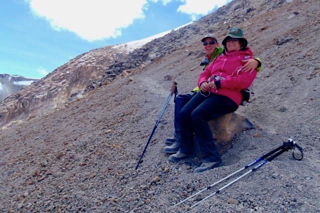 Chachani Besteigung - Pause - Arequipa - Peru