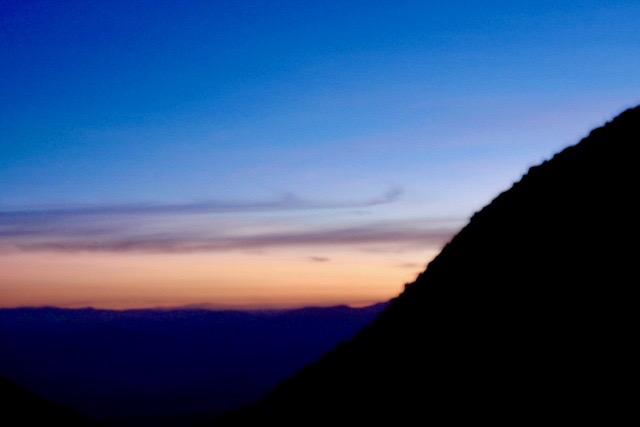 Chachani Besteigung - Sonnenaufgang - Arequipa - Peru