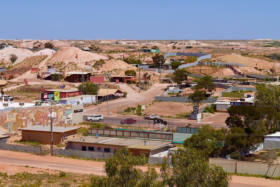 Opal Hauptstadt der Welt: Coober Pedy - Dug Outs: Wohnen in Höhlen - South Australia