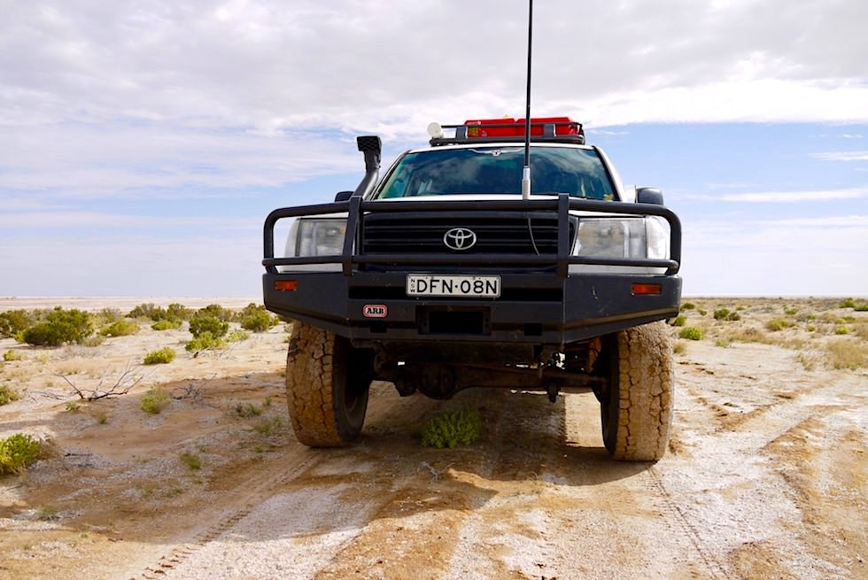 Lake Eyre - 4WD Abenteuer & Off-road Spaß - South Australia