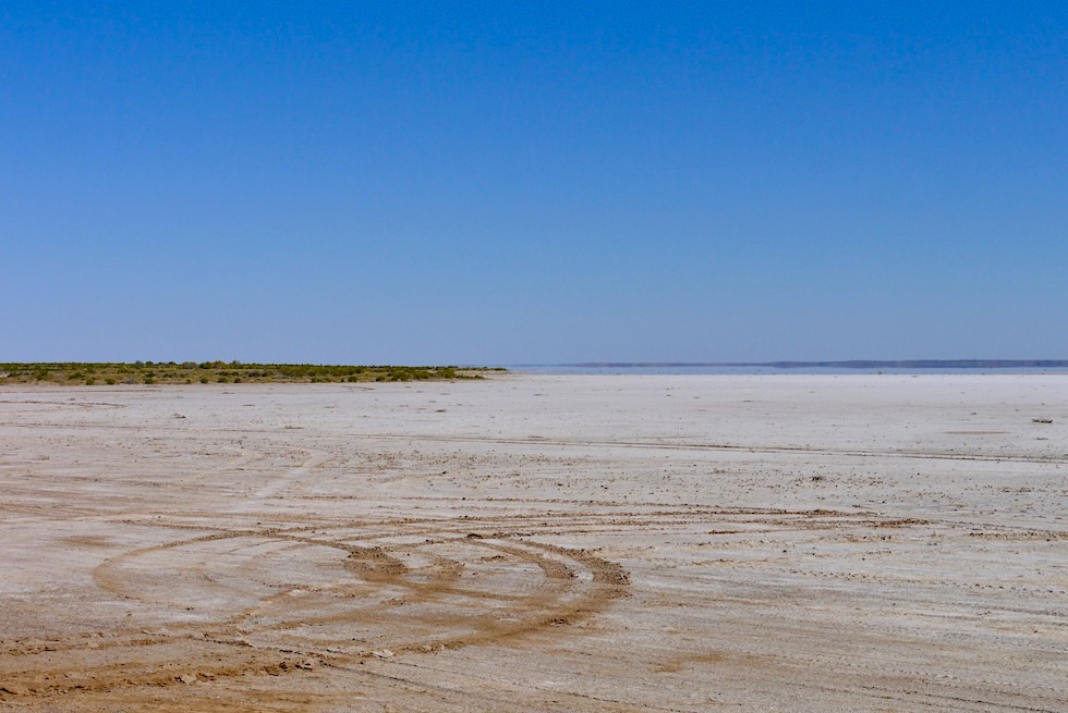 Lake Eyre North - Wasser bei Halligan Bay - South Australia