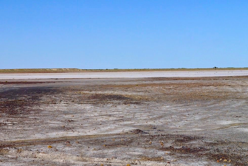 Lake Eyre North - Blick auf ABC Bay - South Australia