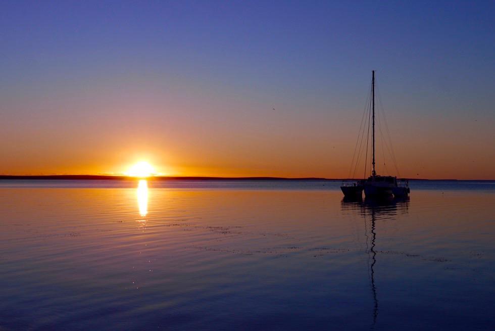 Monkey Mia - Wunderschöner Sonnenuntergang - Shark Bay Highlights - Western Australia