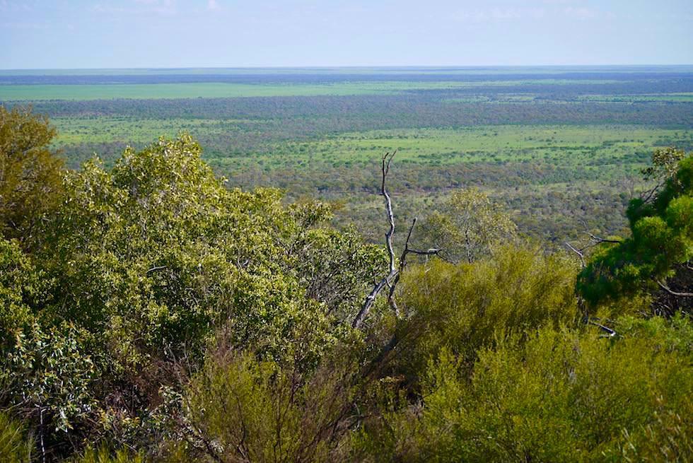 Ausblick vom Mount Walker Scenic Lookout - Hughenden - Queensland