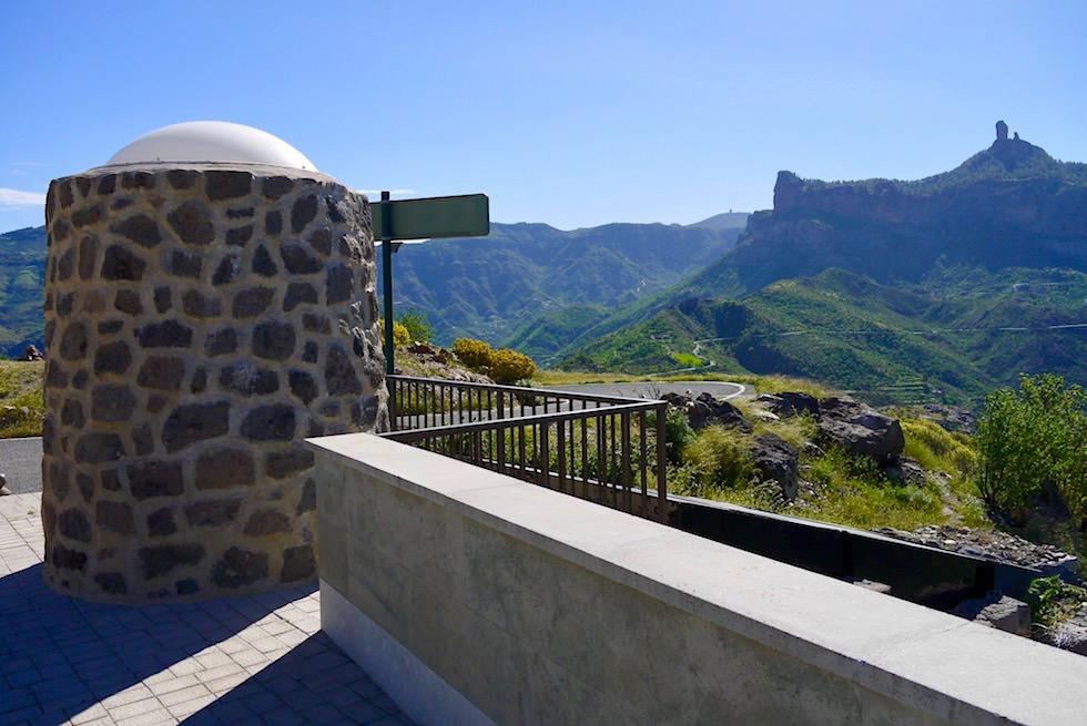 Parkplatz mit Ausblick - Roque Bentayga Wanderung - Gran Canaria