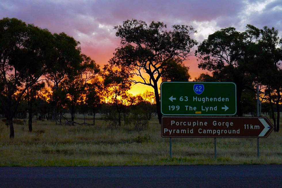 Porcupine Gorge Lookout & National Park - Sonnenuntergang - Outback Queensland
