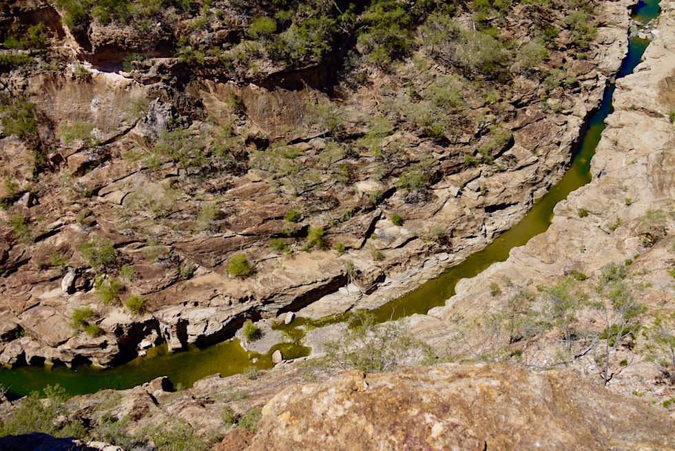 Porcupine Gorge - Rinnsal oder reissender Fluss - Outback Queensland