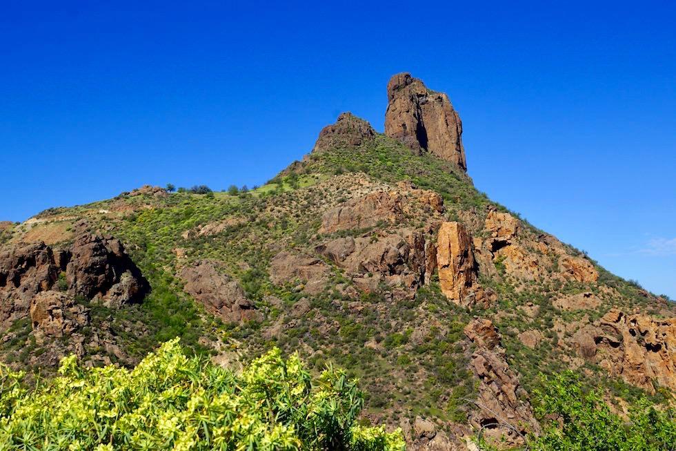 Roque Bentayga - Festungsanlage & spiritueller Ort der Ureinwohner von Gran Canaria