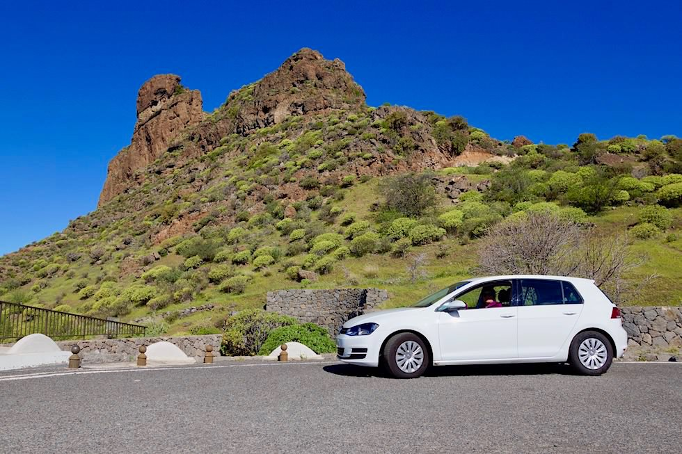 Roque Bentayga - Car Rental Goldcar - Gran Canaria