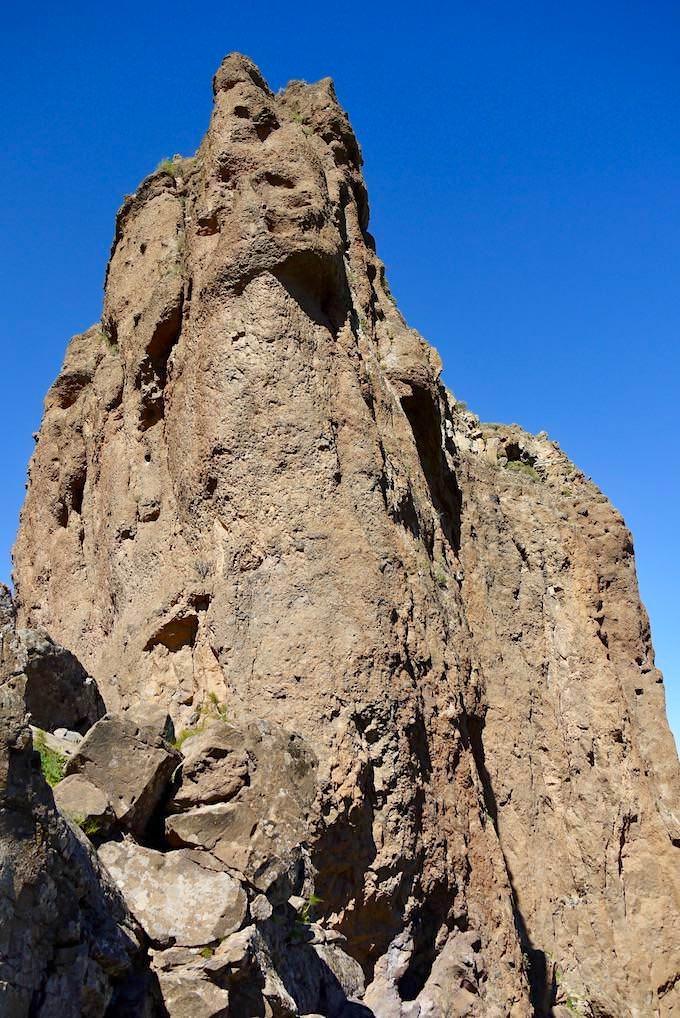 Roque Bentayga - Beeindruckende Steilwand & Ostkante - Gran Canaria