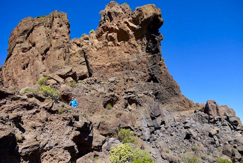 Roque Bentayga - beeindruckende Felswand & Kultort - Gran Canaria