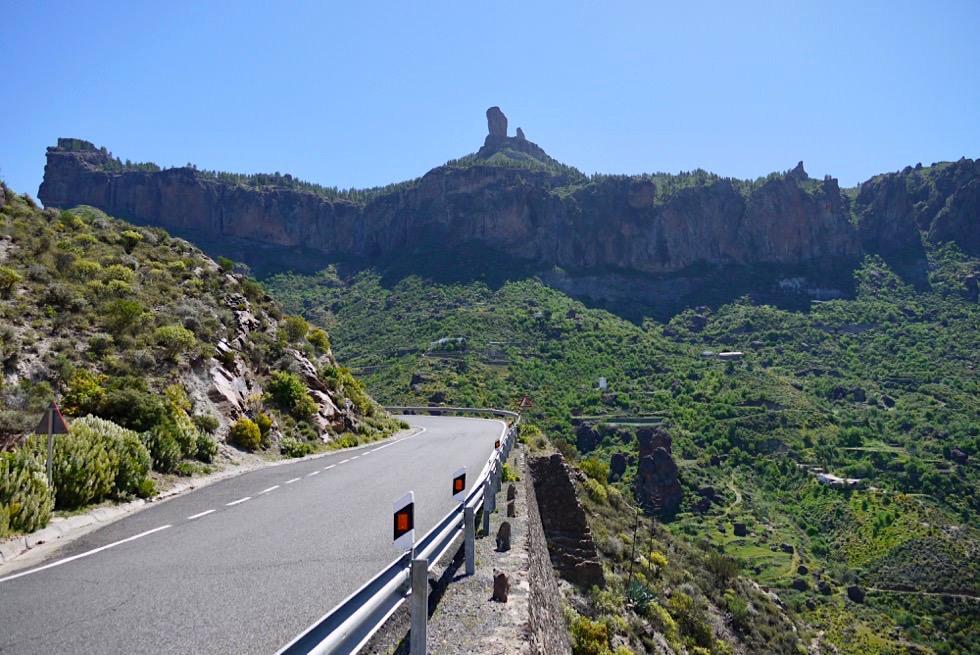 Roque Nublo von GC 60 aus: Von überall ist das Wahrzeichen von Gran Canaria zu sehen