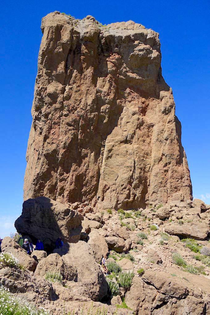 Roque Nublo Wanderung - Wie entstand der Wolkenfels oder Roque Nublo - Gran Canaria