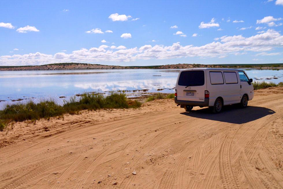 Shark Bay - Fowler's Camp Ausblick - Western Australia
