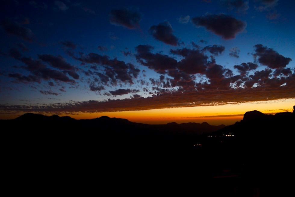 Letzte Lichtstrahlen: Sonnenuntergang - Artenara - Gran Canaria