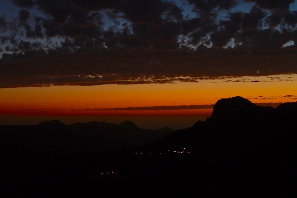 Über den Dächern Gran Canarias - Sonnenuntergang in Artenara, dem höchsten Bergdorf von Gran Canaria