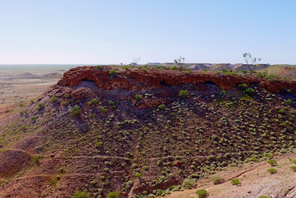 The Breakaways - Abrisskanten, Klippen, Täler - South Australia