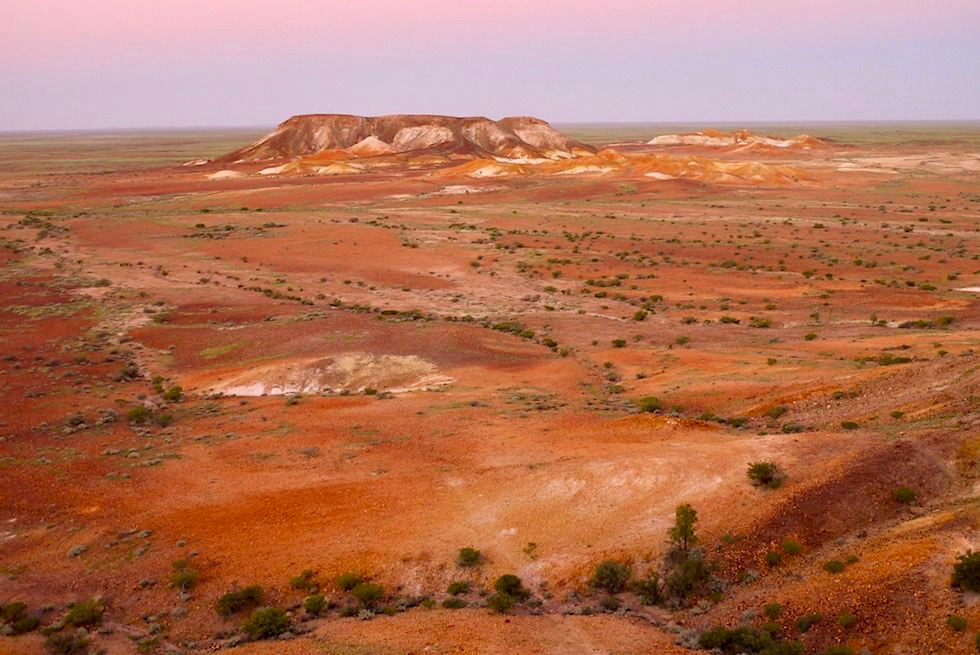 The Breakaways - Ausblick & Sonnenuntergang - South Australia