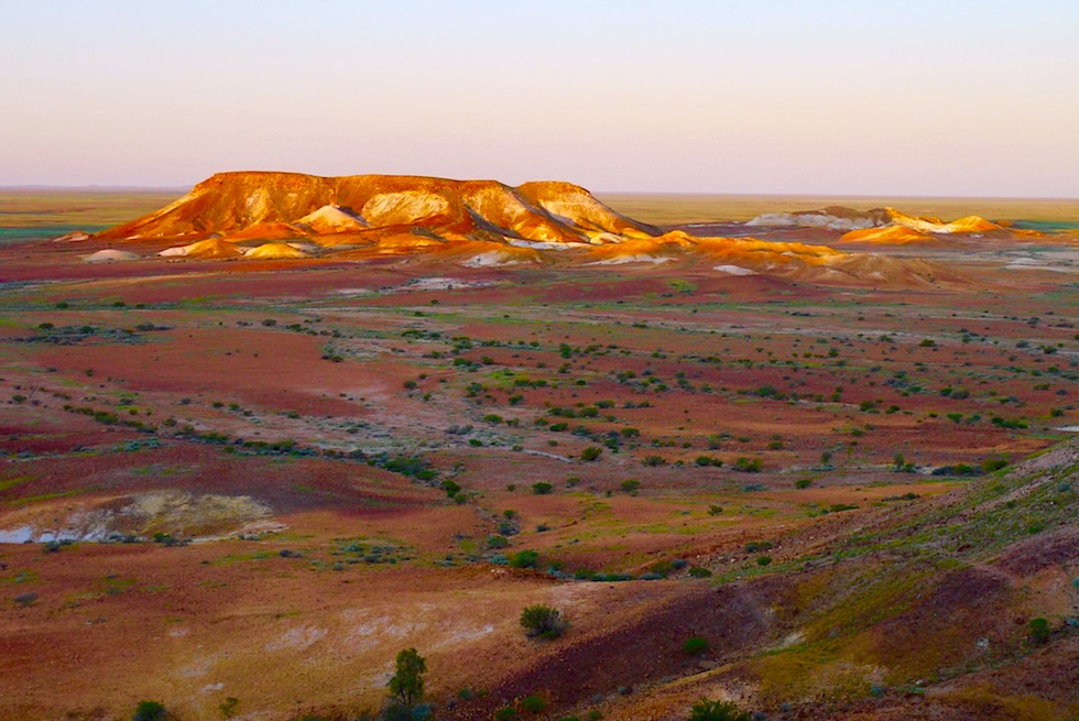 Geheimtipp: The Breakaways - Sonnenuntergangsstimmung - Coober Pedy - South Australia