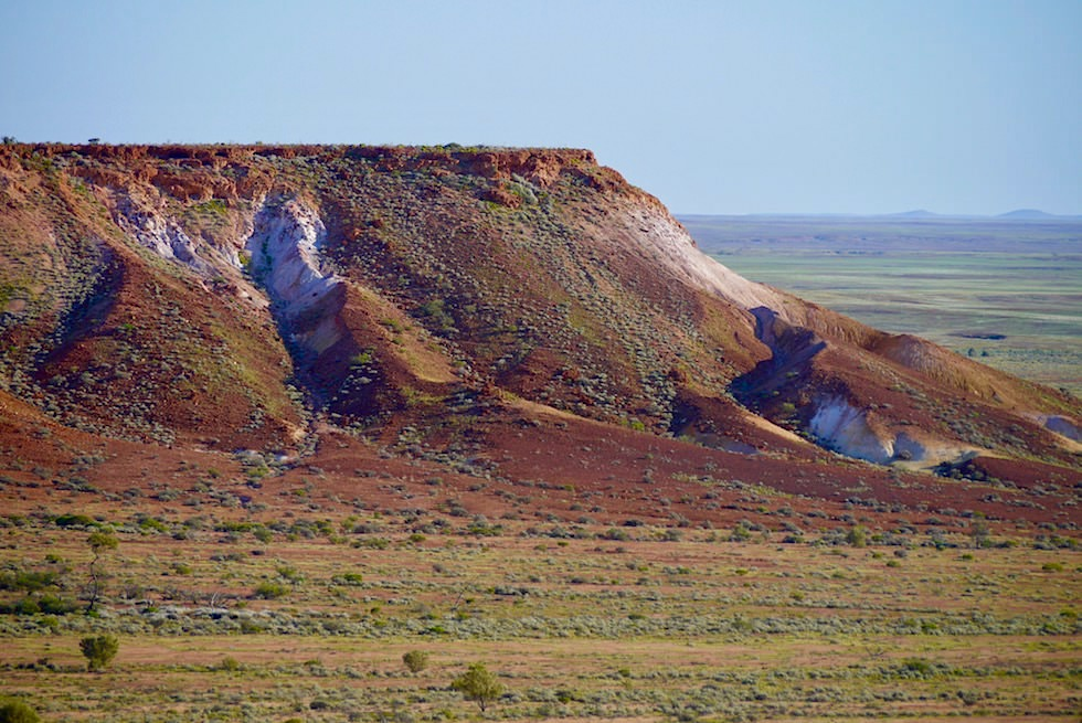The Breakaways - buntes Hochplateau - Coober Pedy - Geheimtipp South Australia