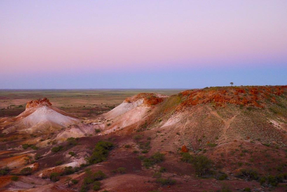 Stimmungsvolle Atmosphäre - Geheimtipp: The Breakaways - nach Sonnenuntergang - South Australi