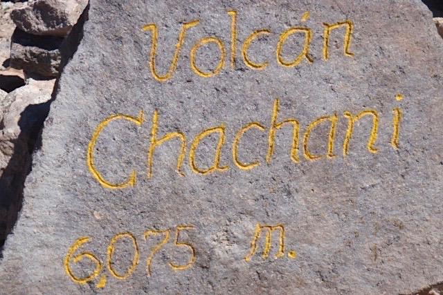 Volcán Chachani - Peru