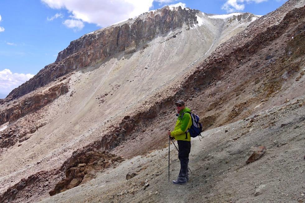 Vulkan Chachani Besteigung - mühsamer Aufstieg - Arequipa - Peru