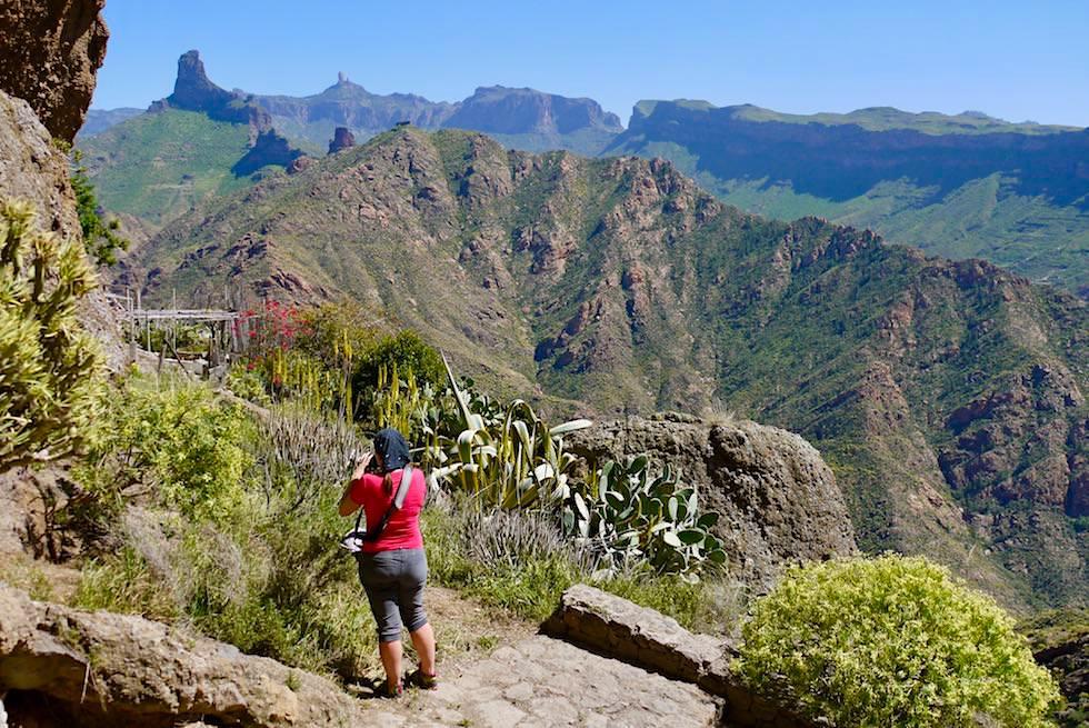 Höhlensiedlung Acusa Seca bei Artenara - Grandiose Ausblicke - Gran Canaria