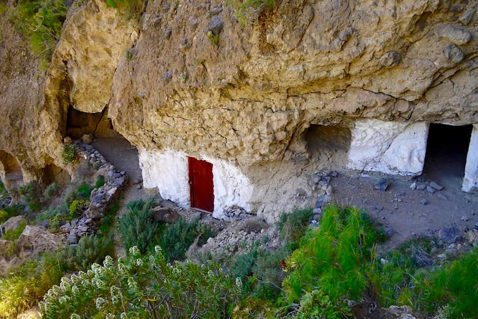 Acusa Seca - Uraltes, kanarisches Höhlendorf bei Artenara - Gran Canaria