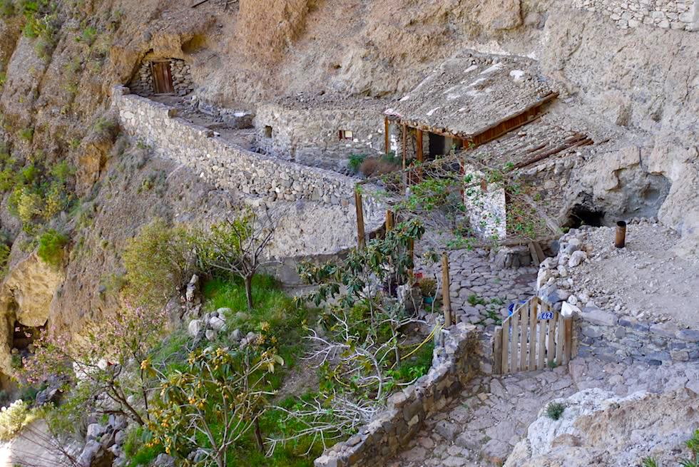 Acusa Seca - Höhlensiedlung bereits genutzt von den Ureinwohnern - Region Artenara - Gran Canaria