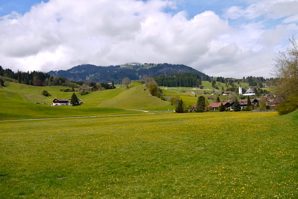 Allgäu Radrunde - Blaichach, Berge & grüne Hügel - Bayern
