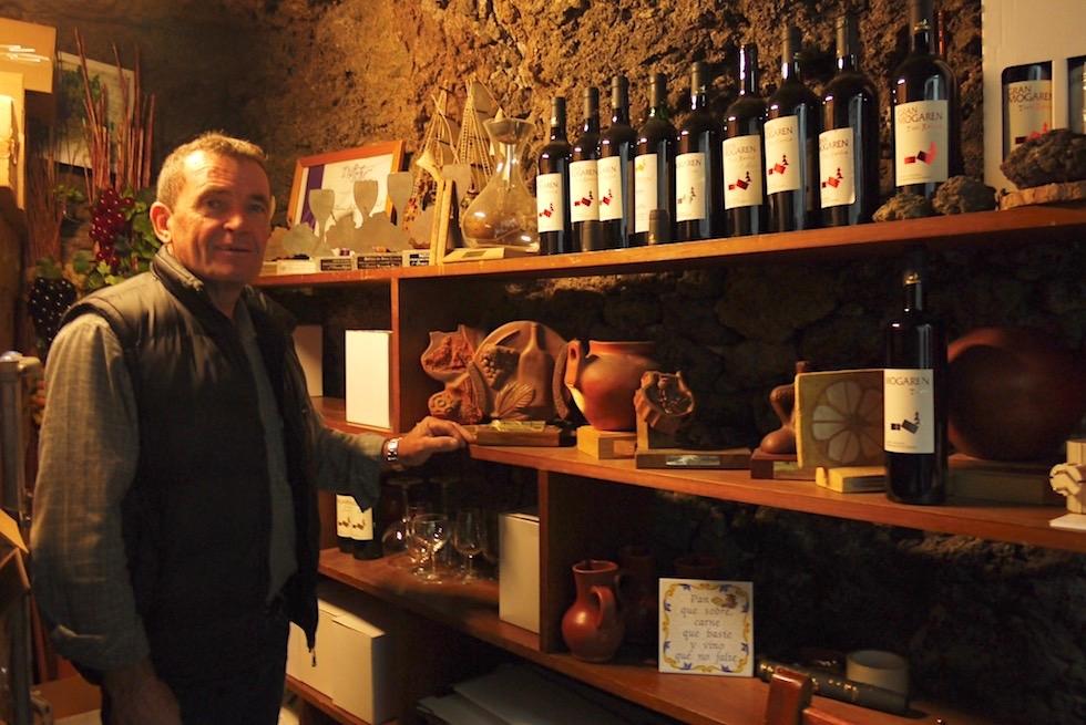 Valsequillo Genusstour - Bodegas Mogaren: einer der bestene Weine von Gran Canaria