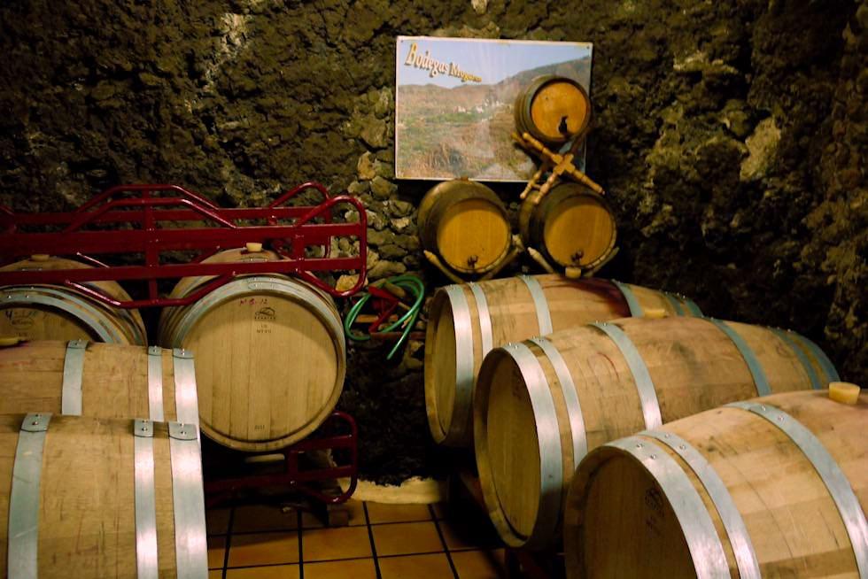Bodegas Mogaren - Valsequillo - Weinfässer - Gran Canaria