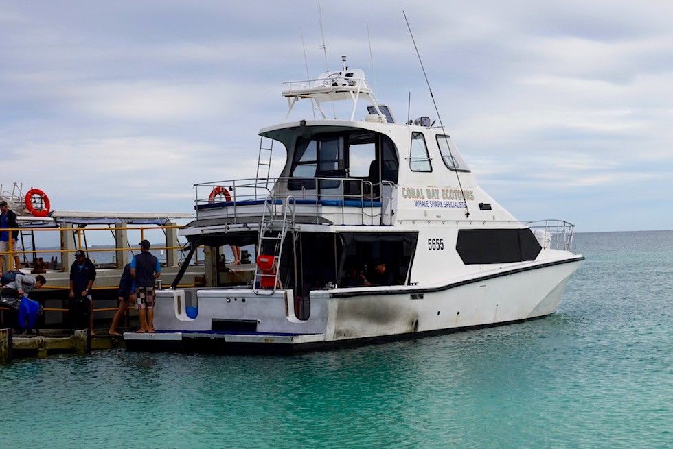 Coral Bay Eco Tours - Boot & Hafen - Western Australia