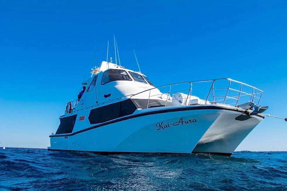 Coral Bay EcoTours - Kai Aura -Whale Shark Boat - Ningaloo Reef - Western Australia