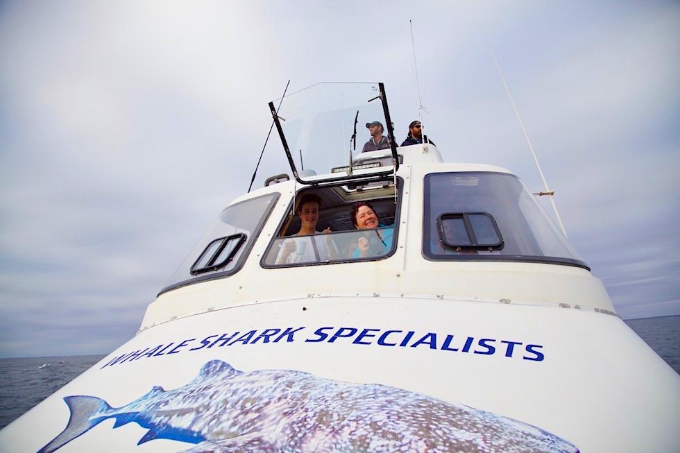 Coral Bay EcoTours - Whale Shark Tour: das Boot - Western Australia