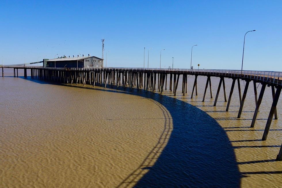 Faszinierend langer, schöner Derby Jetty & Derby Wharf - Kimberley - Western Australia