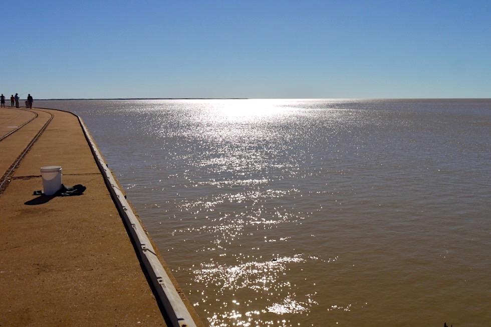 Derby Jetty & Fischer - Blick auf King Sound Gulf - Western Australia