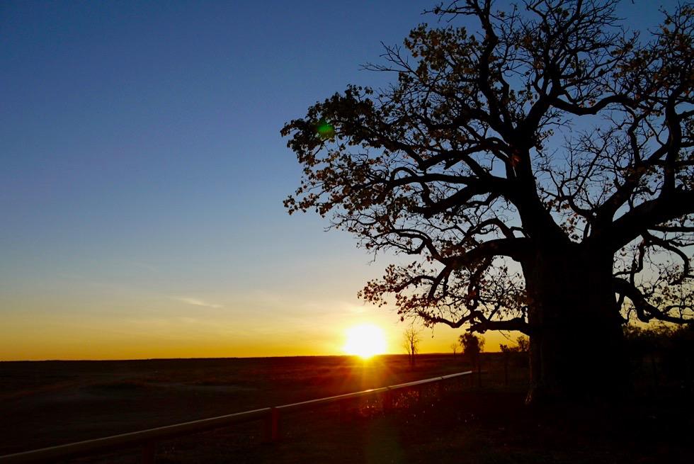 Derbys schönste Spots für Sonnenuntergänge - One Mile Dinner Camp - Kimberley - Western Australia