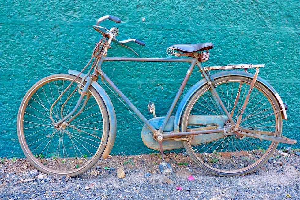 Fahrrad alt - Blogparade Schönste Radtouren