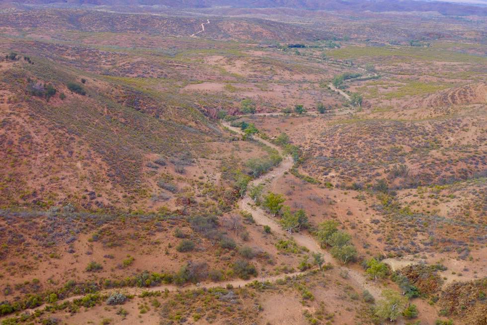 Nördliche Flinders Ranges - Landschaft bei Arkaroola - Outback South Australia